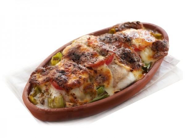 Fırın Levrek Patates Graten ve Salata